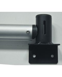 Pipe & Drape wall Installation bracket for horizontal bars