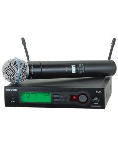 SHURE SLX24/B58 WIRELESS MICROPHONE SYSTEM