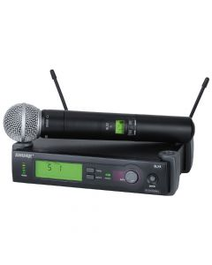 SHURE SLX24/S58 WIRELESS MICROPHONE SYSTEM