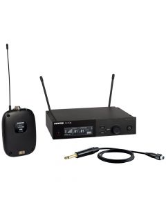 Shure SLX-D System with SLXD1 Transmitter, WA302 Cable and and SLXD4 Digital Wireless Receiver