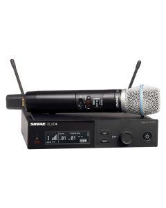 Shure SLX-D System with SLXD2/Beta87 Handheld Transmitter and SLXD4 Digital Wireless Receiver