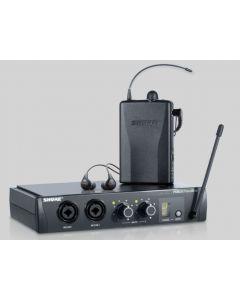 SHURE PSM200 P2TRSE112 WIRELESS IN-EAR PERSONAL MONITOR SYSTEM C/W SE112 EARPHONES