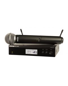 SHURE BLX24R/SM58 HANDHELD WIRELESS SYSTEM