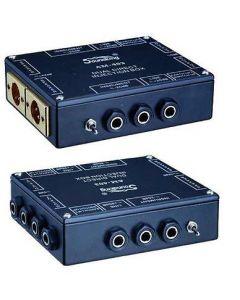 SOUNDKING AM403 2 CHANNEL / DUAL PASSIVE STEREO DI DIRECT BOX