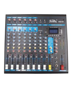 Soundking KG10 10 channel mixer with effects / mp3 player / recording / USB