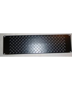 "3RU 19"" vented rack blank panel SP-56"