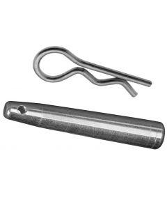 Truss spigot and safety spring
