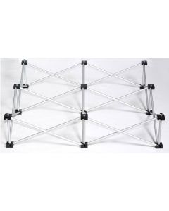 Compact stage riser only - 1.2x1.2m 60cm high