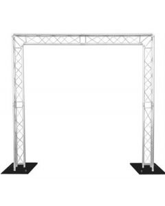 Truss stand 3.5m high x 7m wide - two way 290mm Tri truss,