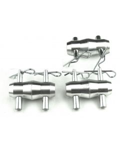 Truss - Alutruss Tri truss kit full conical couplers, spigots, safety R-springs