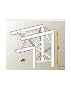 Alutruss ALU32305B aluminium two-way tri-truss corner / 290MM