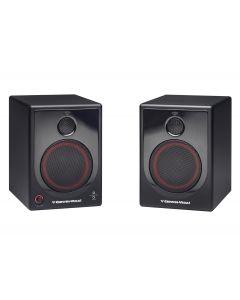 Cerwin vega XD5 2-way active studio desktop speaker monitors (PAIR)